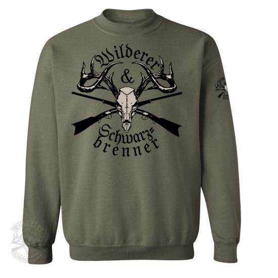Sweat Shirt Wilderer & Schwarzbrenner - XL