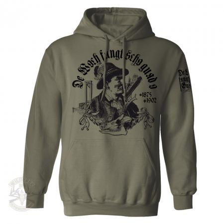 Kapuzen Sweat Shirt Wilderer Mathias Kneissl